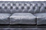 Chesterfield Sofa Vintage Leder | 3-Sitzer | Schwarz | 12 Jahre Garantie_