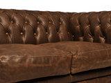 Chesterfield Sofa Vintage C0869   2-Sitzer   12 Jahre Garantie_