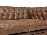 Chesterfield Sofa Vintage Leder Alabama C1059   2 + 3 Sitzer   12 Jahre Garantie_