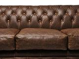 Chesterfield Sofa Vintage Leder C0869 | 1 + 1 + 3 Sitzer | 12 Jahre Garantie_