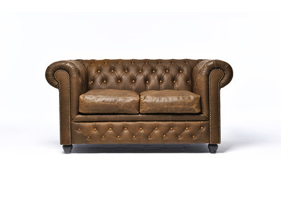 Chesterfield Sofa Vintage Alabama C1059 | 2-Sitzer | 12 Jahre Garantie
