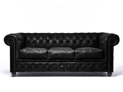 Chesterfield Sofa Vintage C0871 | 3-sitzer | 12 Jahre Garantie