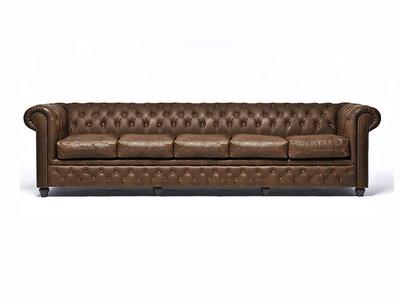 Chesterfield Sofa Vintage C0869   5-sitzer   12 Jahre Garantie